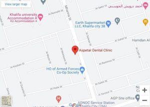 Aspetar Dental Clinic Khalifa City A Address